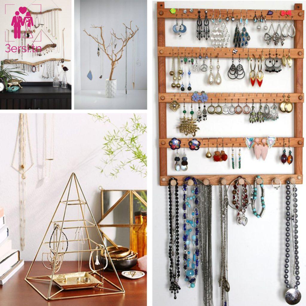 De superbes idées originales pour vos portes bijoux !!