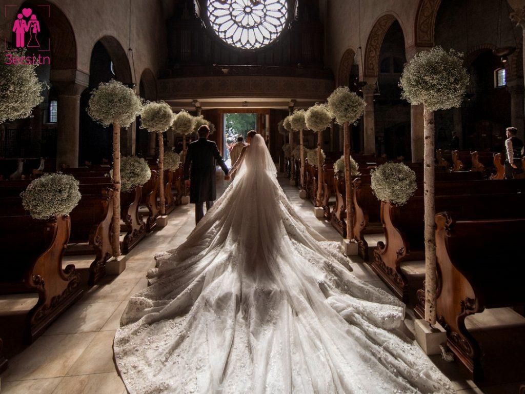 Une des plus belles robes de tous les temps!! L'incroyable et scintillante robe de mariage de Victoria Swarovski !!