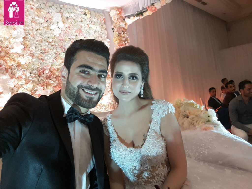Le mariage du footballeur Hamza Mathlouthi !!