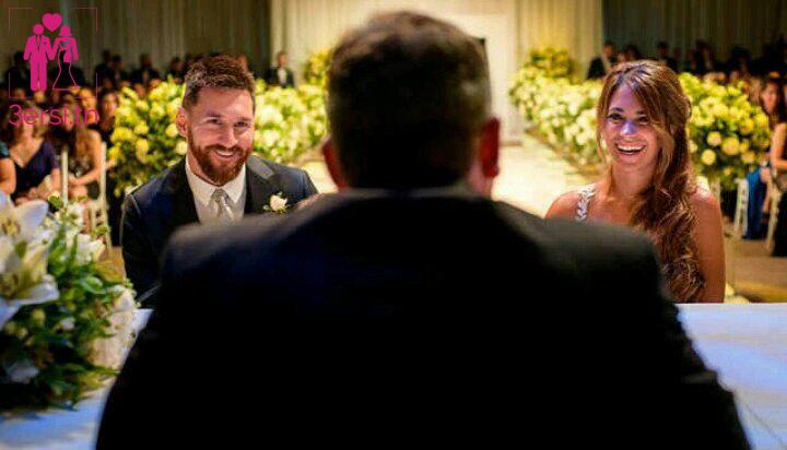 L'incroyable mariage de Lionel Messi et son amoureuse la belle Antonella Roccuzzo !!