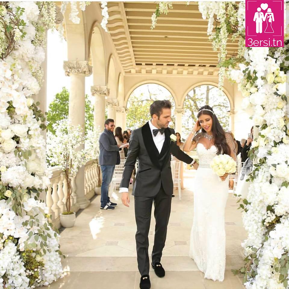 Daniella Semaan épouse Cesc Fabregas