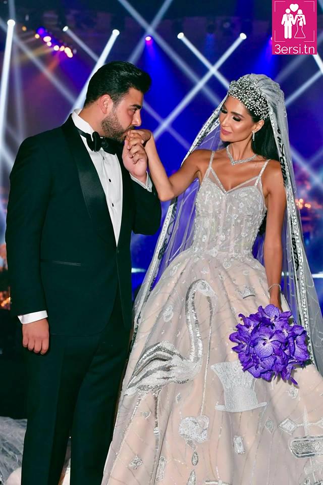 Le mariage d' Alice Abdel Aziz