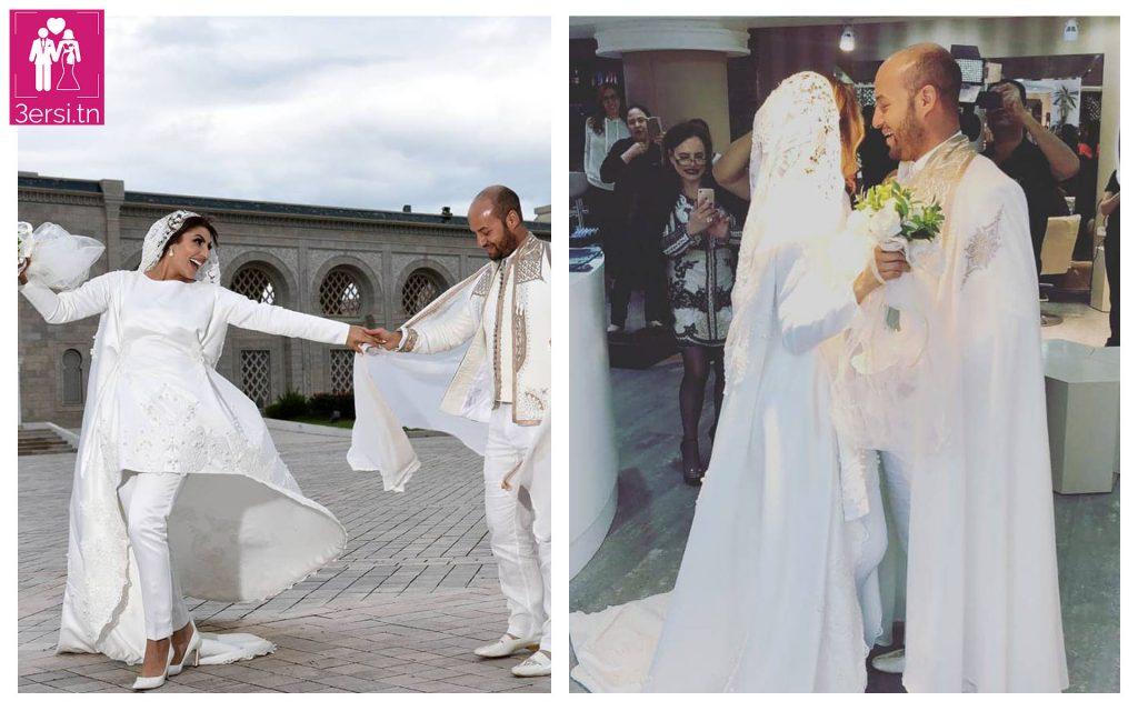 Mariage de la chanteuse Imen Cherif