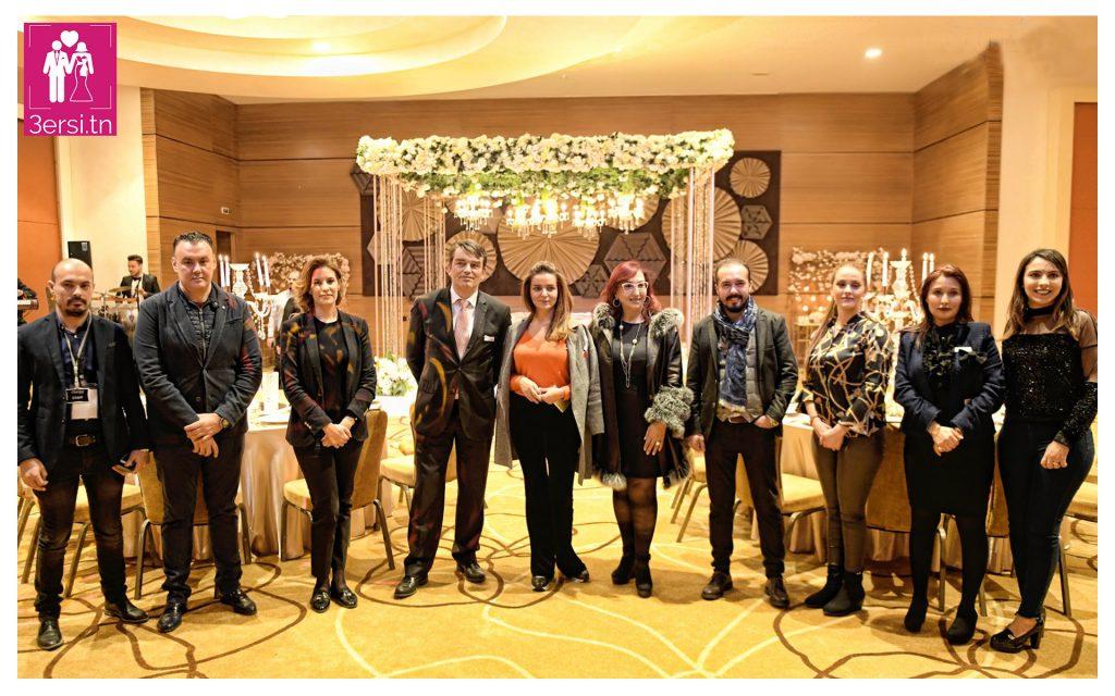 1ére édition de la wedding fair au Mövenpick Tunis