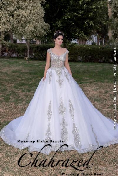 Location robe de mariage tunis 2019