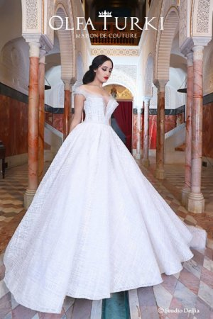 Olfa Turki Wedding Dress El Menzah 6 Ariana Ville Ariana
