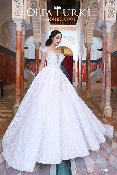 Olfa Turki : Robe de mariage - El Menzah