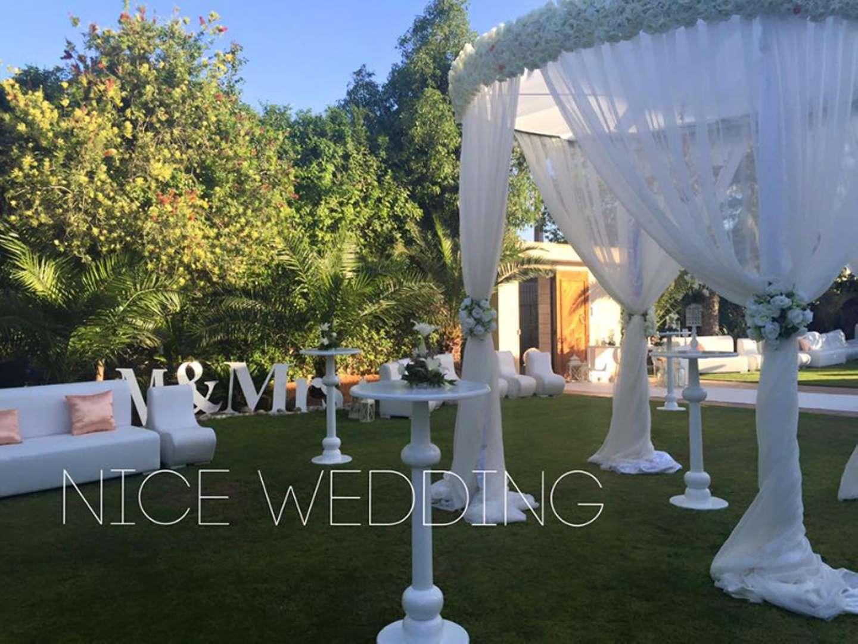 nice wedding d coration mariage l 39 aouina la marsa tunis. Black Bedroom Furniture Sets. Home Design Ideas