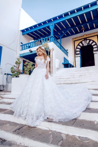 Narjes haute couture robe de mariage marsa ville la for Centre ville la mariage robes